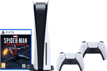 Playstation 5 + Marvel's Spider-Man-Miles Morales PS5 + PlayStation 5 DualSense Controller