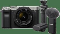 Sony A7C Silver + 28-60mm f/4-5.6 Vlog Kit