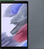 Samsung Galaxy Tab A7 Lite 32GB Wifi + 4G Zwart + Samsung Book Cover Grijs