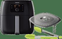 Philips Avance Airfryer XXL HD9650/90 Black + Snack Kit