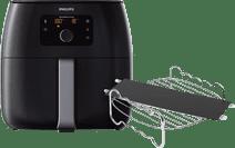 Philips Avance Airfryer XXL HD9650/90 Zwart + Kookrek + Panverdeler