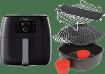 Philips Avance Airfryer XXL HD9650/90 Zwart + Accessoireset