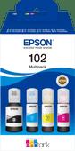 Epson 102 Inktflesjes Combo Pack Kleur