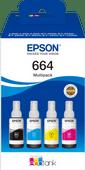 Epson 664 Inktflesjes Combo Pack Kleur