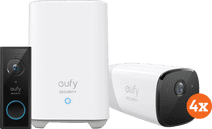 Eufy by Anker Eufycam 2 4-Pack + Video Doorbell Battery