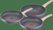 Tefal Natural Force Cookware Set 3-piece