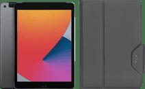 Apple iPad (2020) 10.2 inch 128 GB Wifi + 4G Space Gray + Targus VersaVu Book Case Zwart