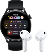 Huawei Watch 3 Active 4G Black/Black 46mm with Earbuds