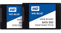 WD Blue 3D NAND 2,5 inch 250GB Duo Pack