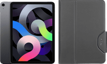Apple iPad Air (2020) 10.9 inch 64 GB Wifi Space Gray + Targus VersaVu Book Case