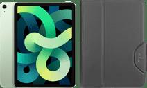 Apple iPad Air (2020) 10.9 inch 64 GB Wifi + 4G Groen + Targus VersaVu Book Case