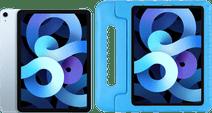 Apple iPad Air 2020 10.9 inch 64 GB Wifi + 4G Hemelsblauw + Just in Case Kinderhoes Blauw