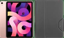 Apple iPad Air (2020) 10.9 inch 256 GB Wifi + 4G Roségoud + Targus VersaVu Book Case