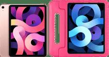 Apple iPad Air (2020) 10.9 inch 256 GB Wifi + 4G Roségoud + Just in Case Kinderhoes Roze