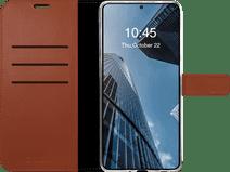Valenta Gel Skin Samsung Galaxy S20 FE Book Case Leather Brown Samsung Galaxy S20 FE cases