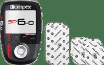 Compex SP 6.0 + Performance Elektrode 5x5cm snap + 5x10cm single snap