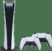 PlayStation 5 Digital Edition + Sony PlayStation 5 DualSense draadloze controller