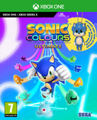Sonic Colors Ultimate - Day One Edition incl Baby Sonic Keyring Xbox One and Xbox Series X