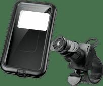 Lampa Opti-Belt Telefoonhouder Stuur Fiets/Motor + Universeel Telefoonhoesje Polycarbonaat