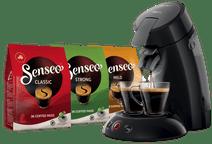 Philips Senseo Original HD6553/67 Black + 108 Coffee Pads