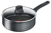 Tefal Titanium Fusion High-sided Skillet with Lid 24cm High-sided skillet