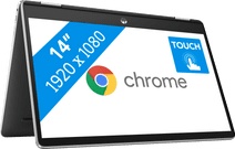 HP Chromebook x360 14b-cb0960nd Laptop met Intel pentium processor