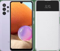 Samsung Galaxy A32 128GB Purple 4G + Samsung Galaxy A 32 4G S View Book Case White