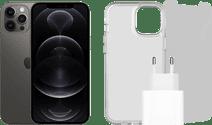Apple iPhone 12 Pro Max 128GB Grafiet + Accessoirepakket