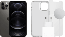 Apple iPhone 12 Pro Max 128GB Grafiet + Accessoirepakket Compleet