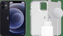 Apple iPhone 12 mini 128GB Zwart + Accessoirepakket Compleet
