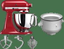 KitchenAid Artisan Mixer 5KSM125 Keizerrood + Roomijsmaker