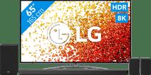 LG 8K 65NANO966PA (2021) + Soundbar LG tv's met NanoCell technologie