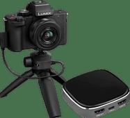 Panasonic Lumix G100 + 12-32mm f/3.5-5.6 + Livestream Kit