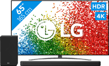 LG 65NANO886PB (2021) + soundbar