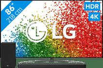 LG 86NANO866PA (2021) + Soundbar