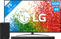 LG 75NANO916PA (2021) + Soundbar