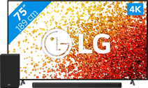 LG 75NANO756PA (2021) + Soundbar