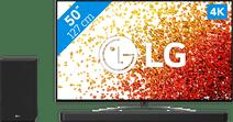 LG 50NANO816PA (2021) + Soundbar