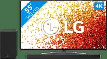 LG 55NANO816PA (2021) + Soundbar