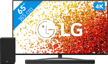 LG 65NANO816PA (2021) + Soundbar LG tv's met NanoCell technologie