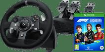 Logitech G920 Driving Force + F1 2021 Xbox Series X & Xbox One