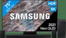 Samsung Neo QLED 8K 75QN800A (2021) + Soundbar