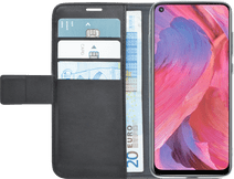 Azuri Wallet Oppo A54 / A74 5G Book Case Zwart