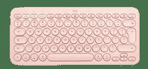 Logitech K380 voor Mac Bluetooth Multi-device Toetsenbord Roze Qwerty