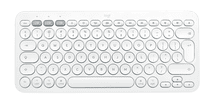 Logitech K380 voor Mac Bluetooth Multi-device Toetsenbord Wit Qwerty