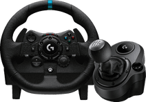 Logitech G923 Trueforce voor Xbox en PC + Logitech Driving Force Shifter
