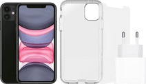 Apple iPhone 11 128 GB Zwart + Accessoirepakket