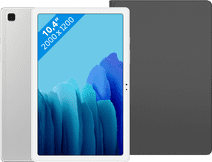 Samsung Galaxy Tab A7 32GB Wifi Zilver + Samsung Book Case Zwart