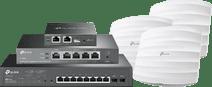 TP-Link zakelijk netwerk startpakket - basis verbinding TP-Link access points