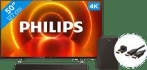 Philips 50PUS7805 - Ambilight + Soundbar + HDMI Cable